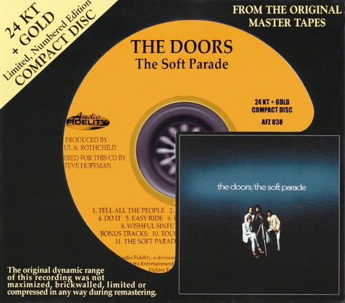 The Doors - The Soft Parade (2009) (Audio Fidelity AFZ 038)