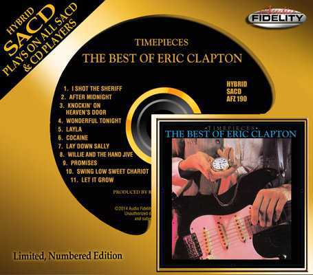 Eric Clapton – Timepieces. The Best Of Eric Clapton (1982) (Audio Fidelity AFZ 190)
